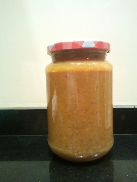 Mermelada de mandarina casera
