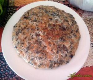 tortilla de verdolaga