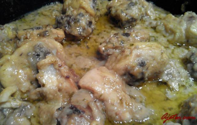pollo al cava