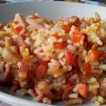 Receta de arroz frito 3 delicias estilo ajetes