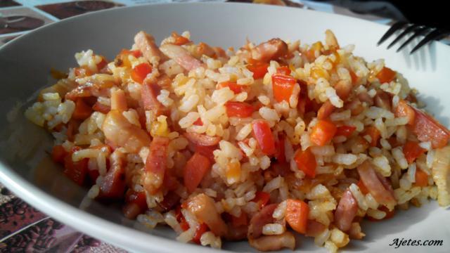 arroz frito 3 delicias