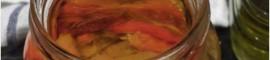 Receta de pimientos asados en conserva