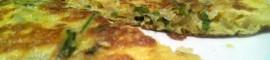 Receta de tortilla de espárragos silvestres