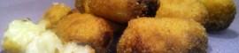 Croquetas de queso gorgonzola caseras