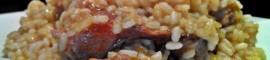 Receta de arroz con pollo, conejo y salchichas