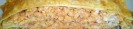 Receta de lasaña de pescado y gambas casera
