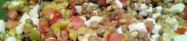 Receta de ensalada de lentejas de verano