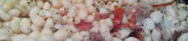 Receta de alubias blancas salteadas con jamón