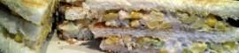 Receta de sandwich vegetal