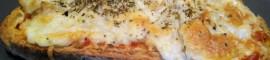 Receta de Pan Pizza casera